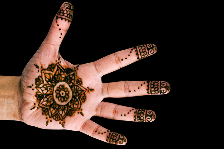 12 Simple Henna Mehndi Designs For Men And Groom Styles