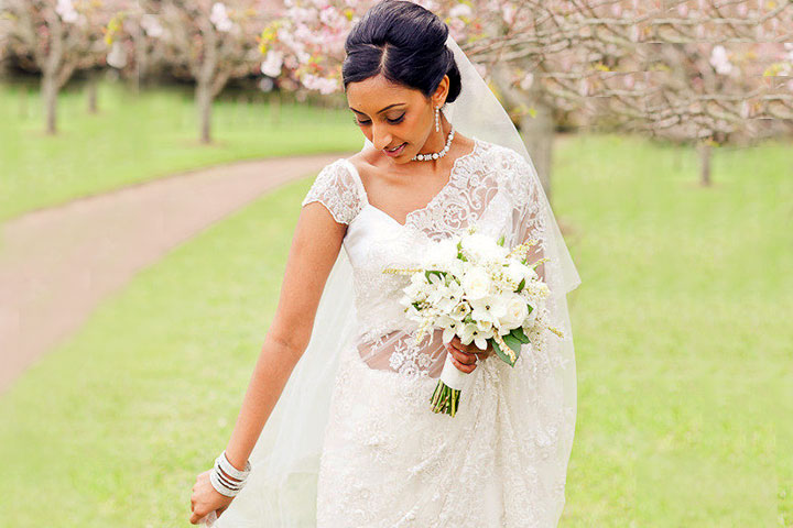 10 luxurious christian bridal sarees that are all the rage