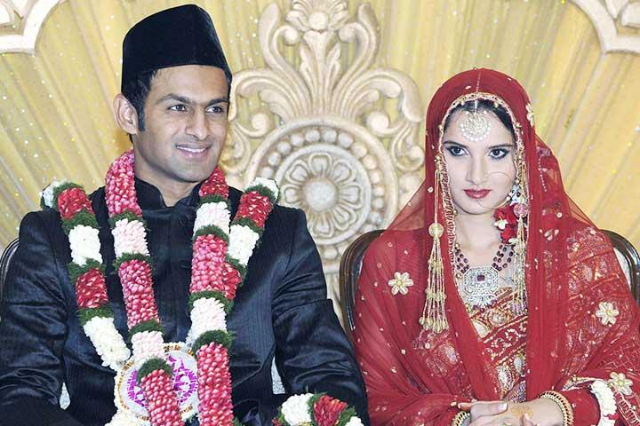 Shoaib Malik – Sania Mirza Marriage : Love At 3rd Sight