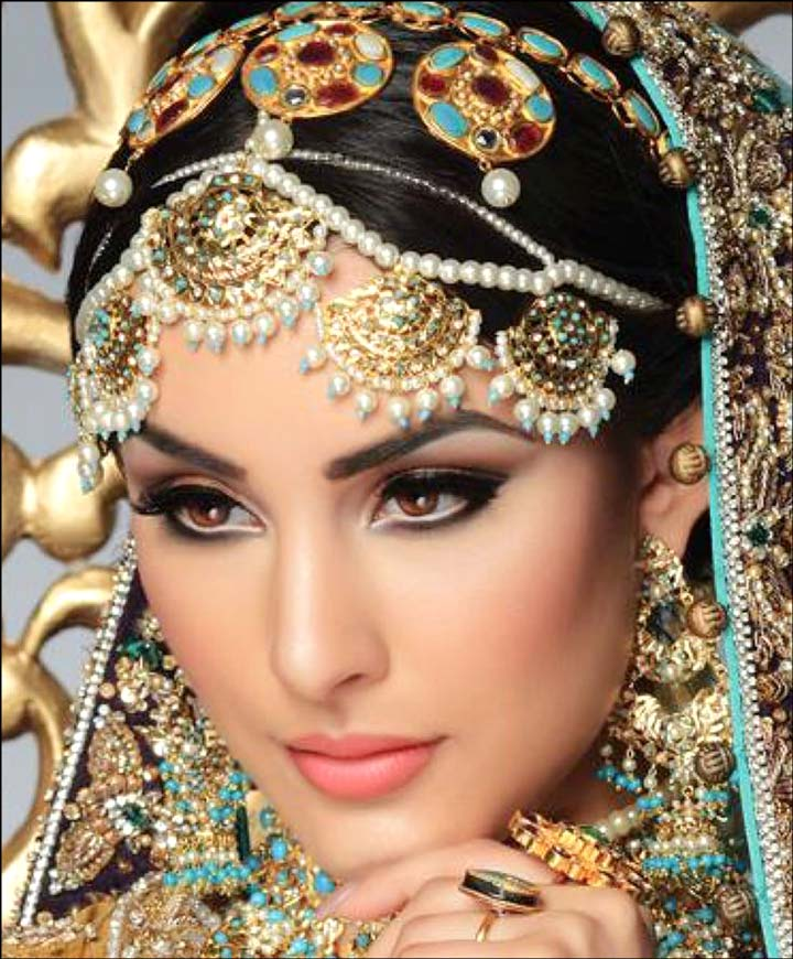 Bridal eye makeup pictures