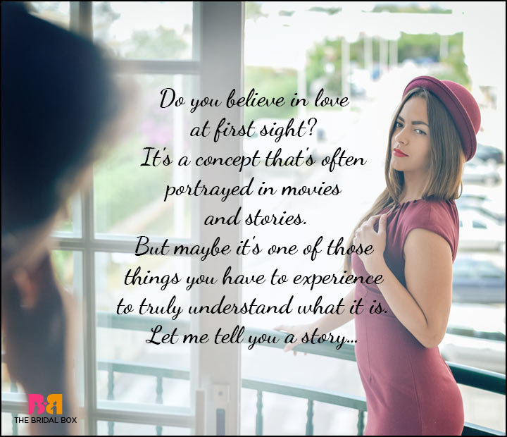 love at first sight 3 essay Love is a beautiful thing, when expressed correctly with full awareness of life and reality love at first sight can be an amazing experience if the two parties involved are conscious, thoughtful people who can discuss the situation honestly and rationally.
