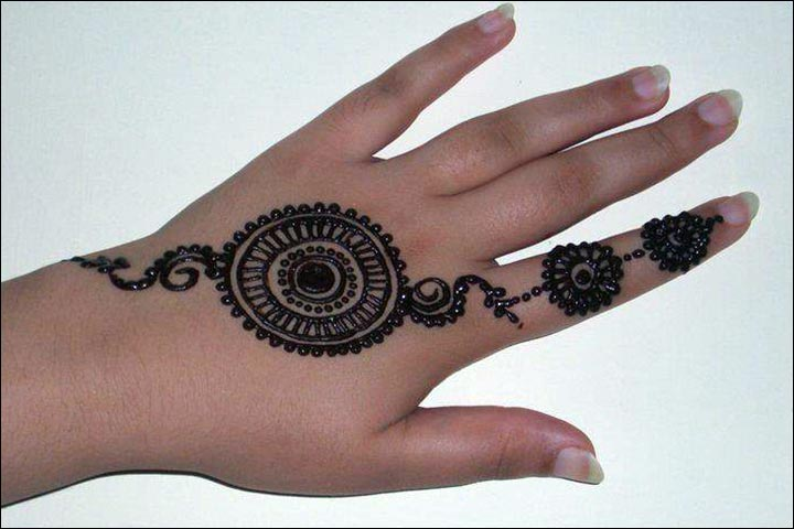 Mehndi Hands With Rings : Beautiful ring mehndi designs for your hands