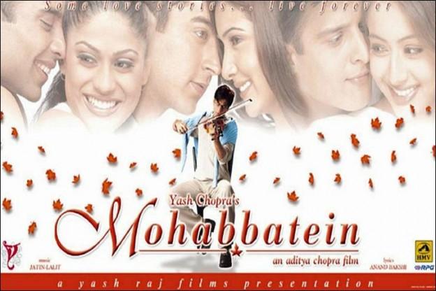 Mohabbatein Full Movie Watch Online Free 720p Download